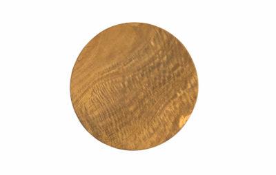 Plato redondo 15cms madera