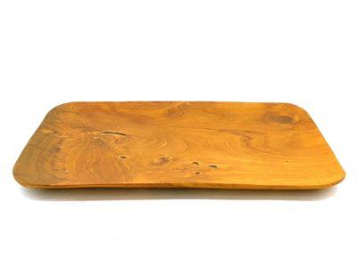 Bandeja rectangular esquina redonda 30cms