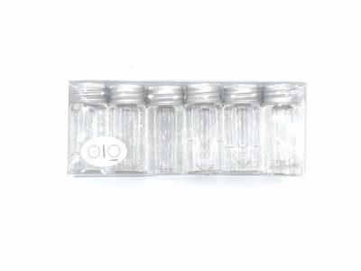 Botellitas de agua aromatizada