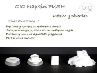 OIO push napkins