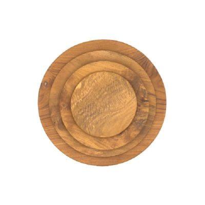Platos madera de teca
