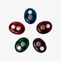 Bases toallitas comprimidas resina colores