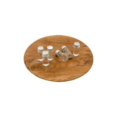 Botellitas para presentar en mesa con salsas o esencias