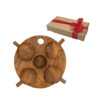 Set Regalo tapas en madera