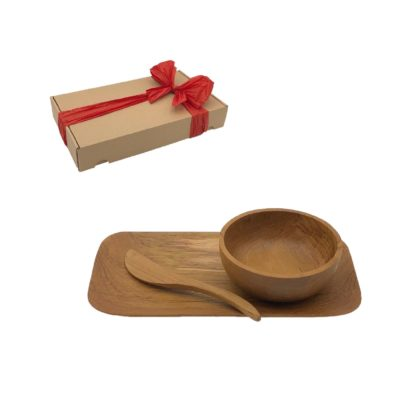 Conjunto regalo Desayuno con caja