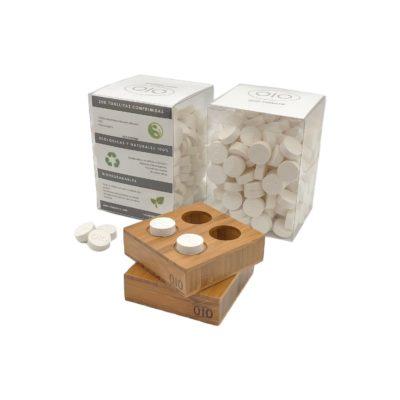 Pack 400 Napkins + 2 bases bambú 2